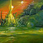 Landscape of Three by ArtoJ