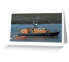 Fleetwood Lifeboats Greeting Card
