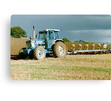 Ford TW-15 Ploughing Canvas Print