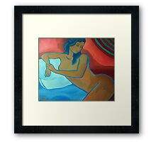 The nude Framed Print