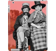 Welsh couple in Kidwelly iPad Case/Skin