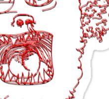 Monster T Sticker
