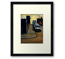 Company Parking Framed Print