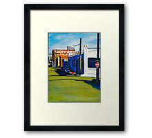 Crossing 24th Framed Print