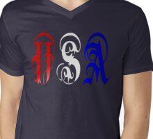 USA-2 Mens V-Neck T-Shirt