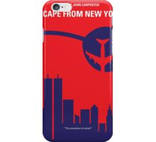 No219 My Escape from New York minimal movie poster iPhone Case/Skin