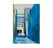Private Parking Art Print