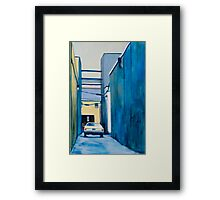 Private Parking Framed Print