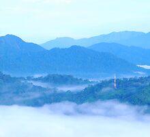 Sungei Lembing, Sunrise by averynkh