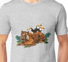 Troubled Tiger Unisex T-Shirt