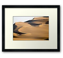 Laurence, where are you? Framed Print