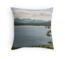 Lough Carragh and MacGillycuddy's Reeks Throw Pillow