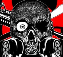 Biohazard Zombie Squad 3 Ring Patch  Sticker