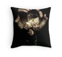 Handy flowers Throw Pillow