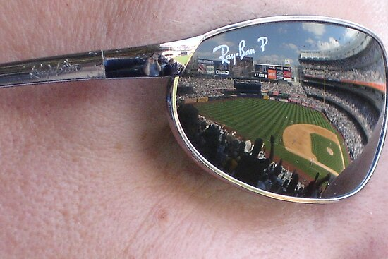 Reflections on Yankee Stadium by cebrfa