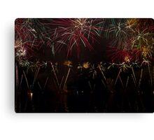 Fireworks 36 Canvas Print