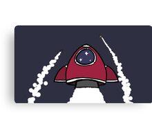 Zoom, Zoom Rocket Canvas Print