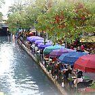 Riverwalk, San Antonio, Texas by Linda Holloway