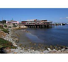 Old Santa Cruz Pier Photographic Print