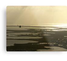 Flying near the Keys Metal Print