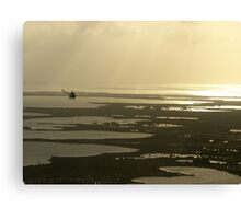 Flying near the Keys Canvas Print