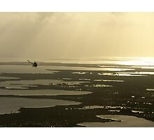 Flying near the Keys Photographic Print