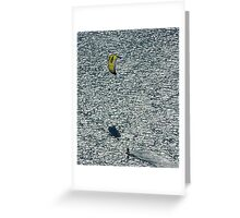The Kiteboarder Greeting Card