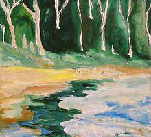 Little Beach by Julie-Ann Vellios