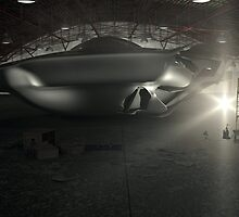 Roswell UFO Hangar by mdkgraphics