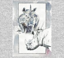 Rhino Study - The Unpardonable Crime Kids Clothes