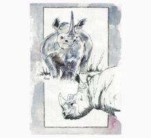 Rhino Study - The Unpardonable Crime Kids Clothes