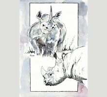 Rhino Study - The Unpardonable Crime Unisex T-Shirt