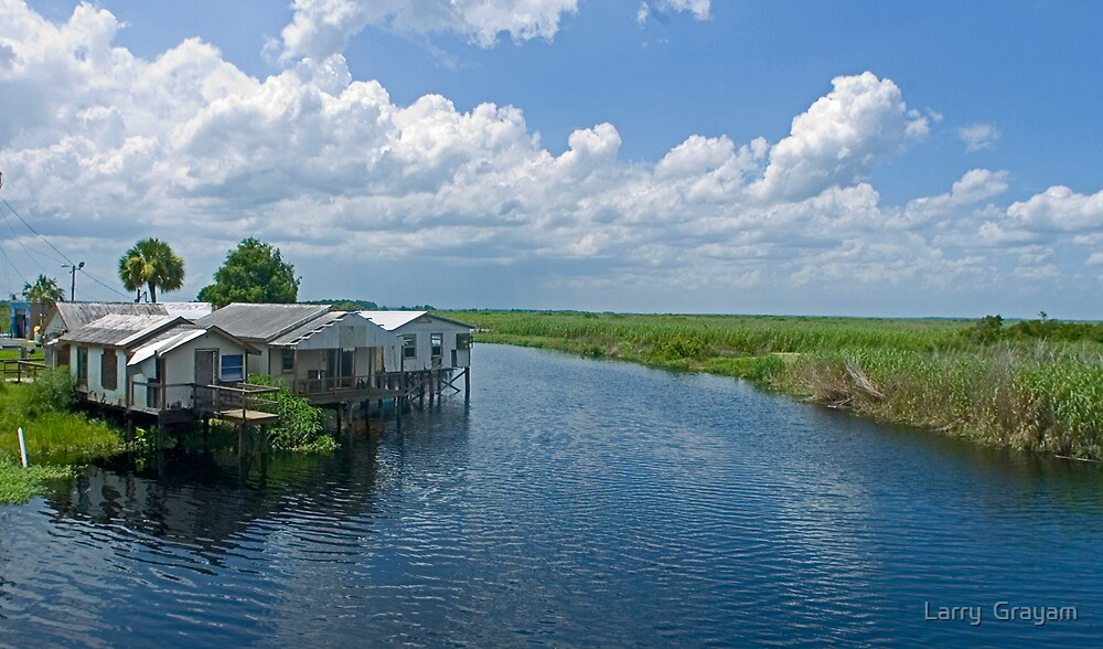 Midway fish camp by Larry  Grayam