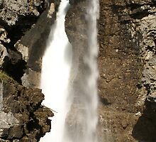 Johnston Canyon Falls, Canada by stampmouse