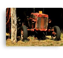 Tractor Shed Canvas Print