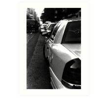 :: NYC Taxi :: Art Print