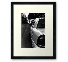 :: NYC Taxi :: Framed Print