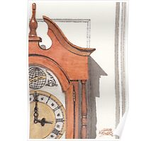 Grandfather Clock Poster