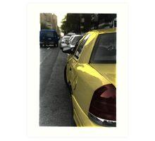 :: NYC Taxi II :: Art Print