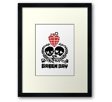 Green day Logo Framed Print