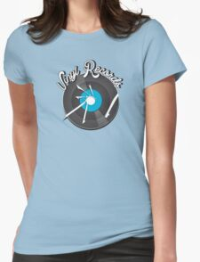 Vinyl Records v2 Womens Fitted T-Shirt