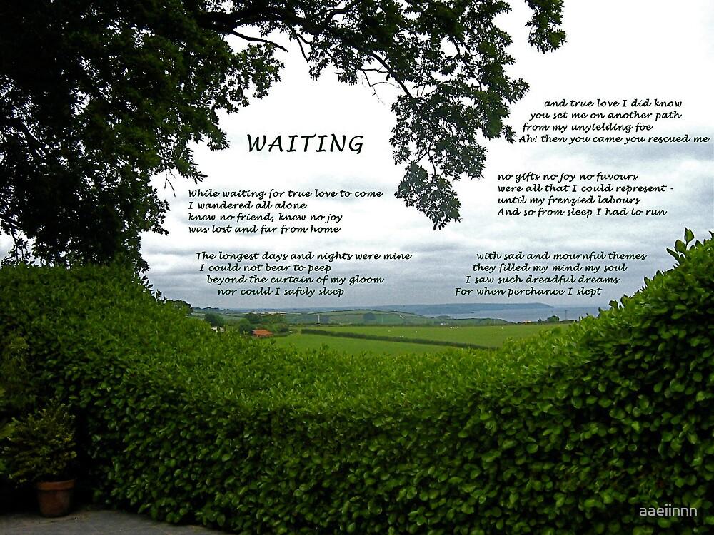 Waiting by aaeiinnn
