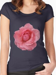 Pink Wild Rose Women's Fitted Scoop T-Shirt