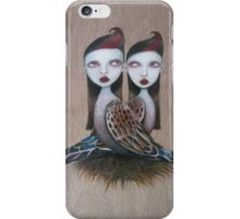 Sibling rivalry iPhone Case/Skin