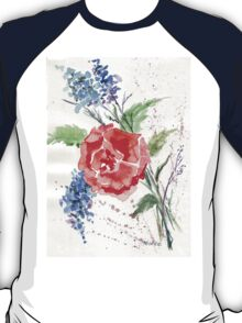 Royal-hearted Rose T-Shirt