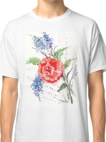 Royal-hearted Rose Classic T-Shirt