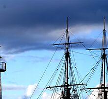 A Ship Ahoy by Sharon Robertson