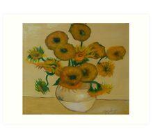 After Van Gogh Art Print