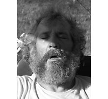 Black and White Relaxation Photographic Print