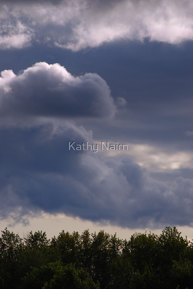 Streams of Fluff by Kathy Nairn